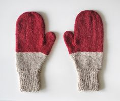 Mittens No 21 by SarahMcNeil on Etsy, $68.00
