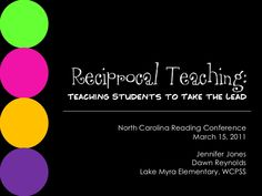 Reciprocal Teaching Based on Vygotsky's theories