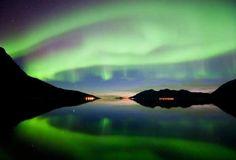 Nordlichter bei Tromsø Villmarkssenter