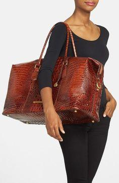 3469c8ed67c6 Brahmin  Duxbury  Leather Travel Bag Brahmin Bags