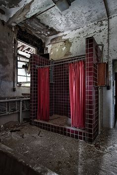 Urban Exploration, Abandoned, Forgotten, Rust, Decaying, Abandoned Places, Abandoned House, Abandoned Building   Lobby, Yankton State Hospital - South...