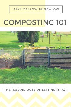 Beginner's Guide to Composting! If you want to learn the basics of how to compost, check out this blog post for more information.