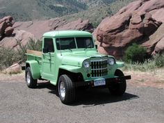 Neal Neubauer's 1951 Willys Truck Parts and pieces. This is my Willys Pickup. Vintage Jeep, Vintage Trucks, Farm Trucks, Cool Trucks, Willis Pickup, Four Door Jeep, Willys Wagon, Jeep Willys, Jeep Pickup Truck