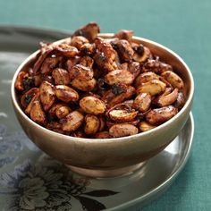 "The Redhead · Manhattan  ""Because everything's better with bacon,"" reads the menu description for these addictive nuts. The sweet and salty snack h..."