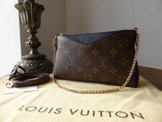 Louis Vuitton Pallas Clutch in Monogram Noir > https://www.npnbags.co.uk/naughtipidginsnestshop/prod_5440825-Louis-Vuitton-Pallas-Clutch-in-Monogram-Noir-As-New.html