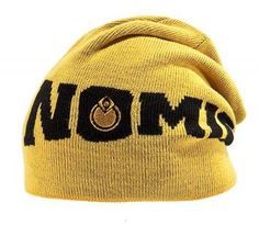 Nomis Knitted Logo Beanie yellow