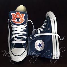 2e28dd021804 Customized Converse Sneakers- Auburn Edition
