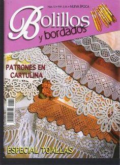 TODO ORILLAS. Bolillos&Bordados 12 (Nueva Epoca)