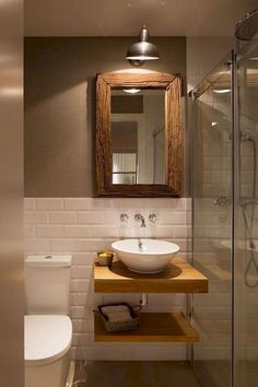 Interesting Tiny House Bathroom Shower Design Ideas And .- Interesting Tiny House Bathroom Shower Design Ideas And Remodel Interesting Tiny House Bathroom Shower Design Ideas And Remodel - Tiny House Bathroom, Bathroom Design Small, Bathroom Interior Design, Modern Bathroom, Bathroom Showers, Sinks For Small Bathrooms, Master Bathroom, Bathroom Cost, Bath Design
