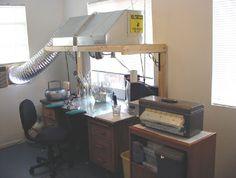 Lampwork studio..THIS IS MY DREAM AREA IN MY STUDIO FOR BEADING