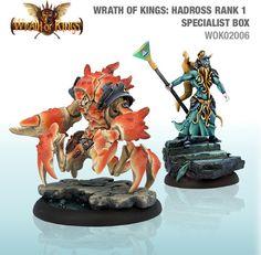 Wrath of Kings House Hadross Rank 1 Specialist Box