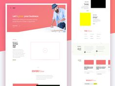 Design Excercise / WIP : Onepager for a VC firm designed by Darinka. Connect with them on Dribbble; Global Design, Web Design, Show And Tell, Growing Your Business, Motion Design, Excercise, Innovation, How To Become, Let It Be