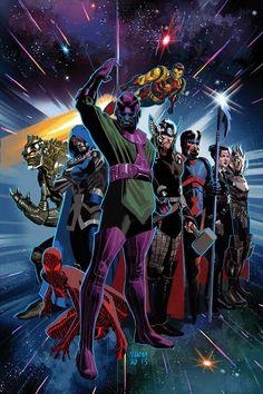 Uncanny Avengers v1 #19 Cover - Daniel Acuña