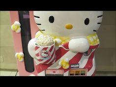 "Japanese Vending Machine ""Hello Kitty Popcorn"" ~ ハローキティ ポップコーン"