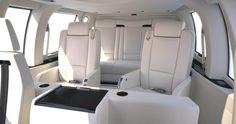 ec 155 helicopter VIP interior design