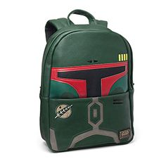 a372f40e71 Loungefly x Star Wars Premium Backpacks - Thinkgeek Boba Fett Backpack