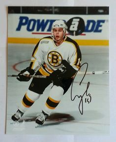 SERGEI SAMSONOV BOSTON BRUINS HAND SIGNED AUTOGRAPHED 8X10 PHOTO W COA in  Sports Mem 2cea375c8