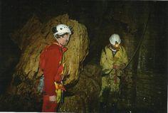 #greatwalker In Te Tahi cave with Kevin, West Coast.