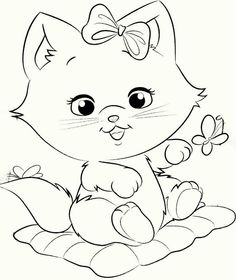 g Easy Coloring Pages, Animal Coloring Pages, Coloring For Kids, Coloring Sheets, Coloring Books, Cartoon Drawings, My Drawings, Color Me Mine, Disney Princess Coloring Pages