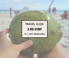 First Travel Vlog from Rio de Janeiro now up! Curious to find out more about Rio de Janeiro? Come take a looksie!