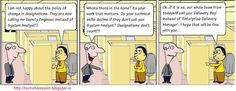 Humour - Technical / Technology Cartoons - Tech Toons 2