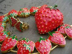 strawberry jewelry