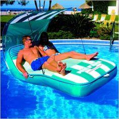 Inflatable Pool N Beach Cabana Lounge