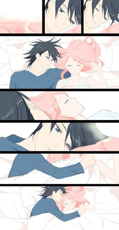 Sasuke and Sakura so cute!