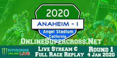 Here you can watch Anaheim Supercross race 2020 HD live streaming on Saturday January The Monster Energy AMA Supercross Anaheim round 1 will be played