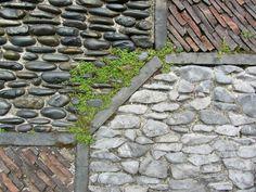 moderne gartengestaltung mit stein garten gestalten mit kreis, Garten Ideen