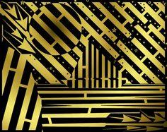 Golden Maze of Midnight Sailing - by Yanito Freminoshi