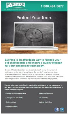 Everase has a variety of dry erase solutions for schools, offices, designers and more. Contact us at for everything dry erase. Custom Whiteboards, Marker Board, Dry Erase Markers, Schools, No Worries, Teacher, Classroom, How To Apply, Technology