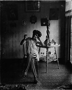 E.J. Bellocq - A prostitute in New Orleans, 1912. S)