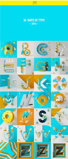 VAGO . on Behance 36daysoftype type character illustration