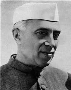 Jawaharlal Nehru- The First Prime Minister of India. He fought for India's Freedom and joined Gandhi. His father Motilal Nehru was a famous lawyer in Allahabad. His only daughter, Indira Gandhi was the Prime Minister of India. Motilal Nehru, Indira Ghandi, Indian Freedom Fighters, Jawaharlal Nehru, Most Famous Quotes, Gandhi, Drawing For Kids, Portrait Photography, White Photography