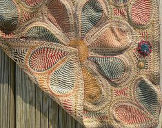 Antique Indian Kantha Embroidery