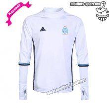 Tops Survetement: Promo Sweatshirt Olympique De Marseille Blanc 2016 2017 Nouveau | Maillots-Sport
