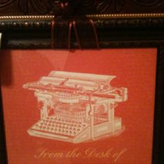 12x12 Framed Piece created by e. jones at Three Brown Girls and a Basket  This makes a great office gift!