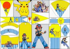 What is better than having a Party? A Pokemon themed part of course. This free printable is the perfect way to theme your kids or adult's party. Maybe you office is having a Pokemon GO lunch?…
