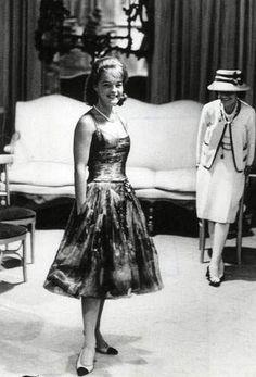 1960 - Coco Chanel & Romy Schneideir - essayage pour Boccace
