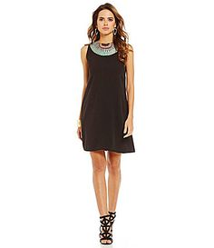 4297d7ec62c Gianni Bini Rosalita MultiColor Embroidered Dress  Dillards Daytime Dresses