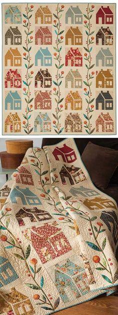 Homestead Quilt Kit | Edyta Sitar's pattern 67 x 77
