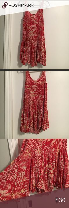 Free people tank dress Cute tank dress, perfect to layer or wear as is Free People Dresses Mini