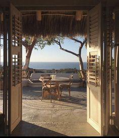 Home Interior Modern Interior Modern, Interior Exterior, Interior Design, Beach Patio, Villefranche Sur Mer, Outdoor Sofa, Outdoor Decor, Take A Break, Travel Aesthetic