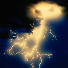 lightning in clouds... OR is it a ghost breathing? I opt for the latter!  See the eyes?