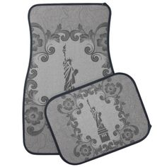 Check out our huge selection of Black car floor mats. Shop our designs, images, photo, & text to find some artwork to protect your car floor! Car Floor Mats, Statue Of Liberty, Flooring, Usa, Artwork, Accessories, Black, Design, Statue Of Liberty Facts