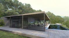 Vielliard Fasciani Maison Contemporaine Aix-en-Provence SMJ 2