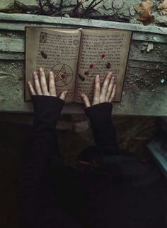 The hands of a witch older than the trees of the paper. Her blood would unlock the gates of hell.
