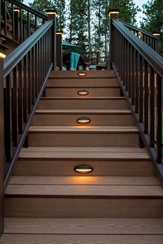 27 outdoor step lighting ideas that will amaze you deck railings 20 landscape lighting design ideas dock lightingoutdoor lightingoutdoor step aloadofball Choice Image