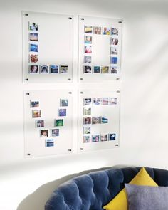 very modern way to display a large number of photos